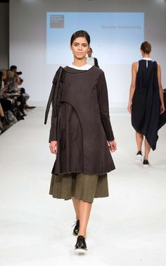 Kingston University student Natalie Simmonds' collection on the catwalk at Graduate Fashion week 2015. Find out more about studying Fashion at KU: http://www.kingston.ac.uk/undergraduate-course/fashion/?utm_source=Pinterest&utm_medium=Social&utm_campaign=KUPinterest&utm_content=gradfashweekSept2015