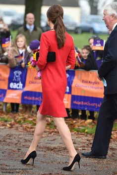 The fundraising event took place from late morning to early afternoon at the Norfolk Showground, just under an hour's drive from the Cambridges' country home, Anmer Hall, located on the Queen's Sandringham estate where the Royal family spend Christmas annually.