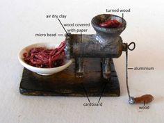My tiny world: Dollhouse miniatures: My meat grinder