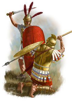 Batalla de Pydna, por Johnny Shumate. Más en www.elgrancapitan.org/foro