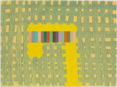 """Thomas Nozkowski, 2011. Oil on paper, 22"""" x 30"""" ."""