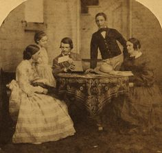 (animated stereo) Altoona group, 1860 by Thiophene_Guy, via Flickr