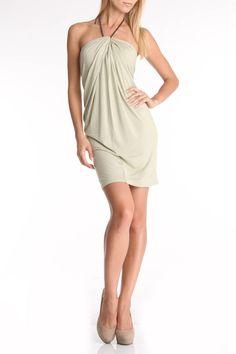 cybil dress in khaki