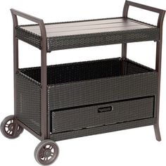 Hanover Bar Serving Cart