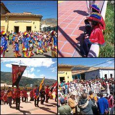 Tradición del 29 de diciembre, las Fiestas de #SanBenito en #Mucuchies estado #Mérida #Venezuela. Collages de algunas fotografías tomadas en el 2010 #Tradición #Cultura
