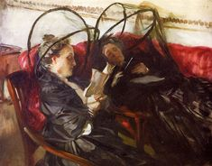 Mosquito Nets (1908), by John Singer Sargent