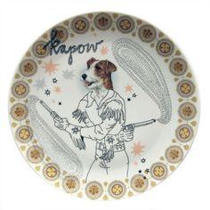 Mr. Gundog-Platter
