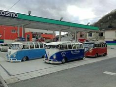 Bus gas station