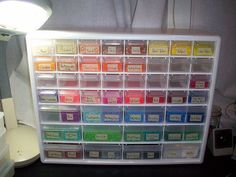 Perler bead storage by betsyowl, via Flickr