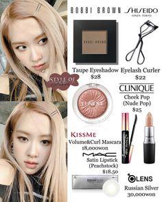Rose - Another! Bobby Brown, Taupe Eyeshadow, Volume Curls, Korean Eye Makeup, Asian Makeup, Korean Makeup Tutorials, Satin Lipstick, Mode Kpop, Makeup Items