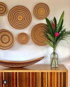 Baskets On Wall, Wall Basket, Mood, Dried Flower Arrangements