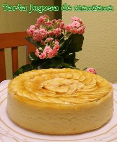 Tarta jugosa de manzana ( con o sin th ) Apple Recipes, Cake Recipes, Sweet Tarts, Pie Dessert, Cookies And Cream, Sin Gluten, Delish, Bakery, Cheesecake