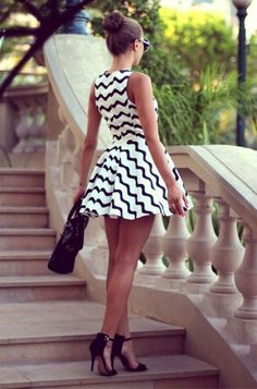 #summer #style stripped beach dress outfit