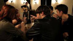 Cena de amigos en 40/40 Space, Rock Bands, Dinners, Girlfriends, People, Floor Space