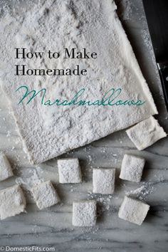 How to Make Homemade Marshmallows (step by step photos)