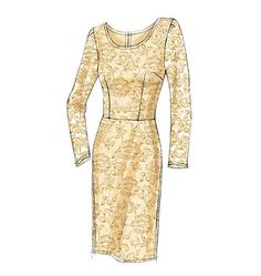 V8766 Misses'/Misses' Petite Dress | Easy