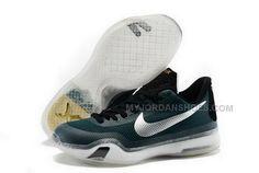 official photos 8b7b1 5f927 Buy Cheap Nike Kobe 10 2015 Dark Green Silver Mens Shoes, Price   99.00 -  Jordan Shoes,Air Jordan,Air Jordan Shoes