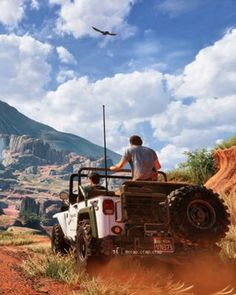 Uncharted 4 - this game is gorgeous and I can't wait to play it!!!!