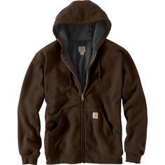 Carhartt Men's Rutland Thermal Lined Hoodie - Big & Tall, Size: Medium, Brown