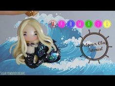Galaxy Mermaid Chibi Polymer Clay Tutorial