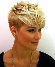2016 Short Pixie Haircuts for Women With Bangs