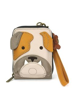 """Chala Handbags Credit Card Holder: Size: 3.5""""W x 5""""H x 1""""D 