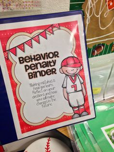 Behavior Management: Reflection Binder used with Clip Chart There are times when I need to ask students to clip down. I give them one verbal warning. If the behavior does not change, they must move their clip. If they clip down, they take a time-out and sit on my cute stool to fill out a behavior reflection that I keep in a binder next to the clip chart.