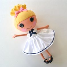 Ahoy Dress for Full Size Lalaloopsy Doll by PistachioLoopsy, $14.00