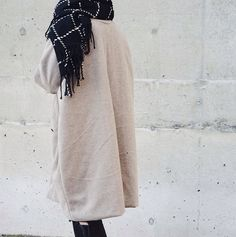We're bundling up in our new arrivals | Scarf C42 and Coat C14 (will be online soon!) #shopnoul #newarrivals