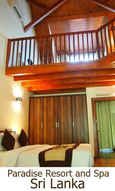 A beautiful hotel in Sri Lanka's Cultural Triangle, The Paradise Resort and Spa, near Dambulla makes a great base for exploring hisorical and wildlife highlights of Sri Lanka,