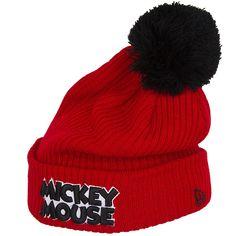 New Era Hero Script Mickey Mouse Beanie - entdeckt im Harlem Streetwear  Shop! ea6ef431d15