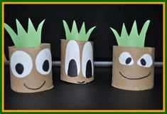 Get a head start on the gardening season with these home-made recycled plant starters. A great gift for Mom this Mother's Day!!