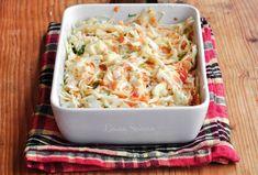 Salata Coleslaw - rețeta simplă, perfectă ca garnitură Coleslaw, Cabbage, Vegetables, Food, Cole Slaw, Veggies, Essen, Coleslaw Salad, Cabbages