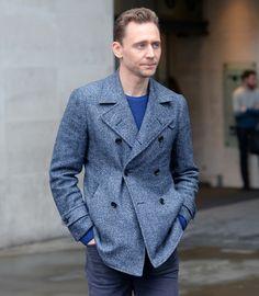 Tom Hiddleston at BBC Radio 1