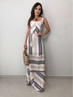 Sexy Dresses, Casual Dresses, Fashion Dresses, Stripe Skirt, Striped Dress, Spring Dresses, Spring Outfits, Dress Skirt, Dress Up