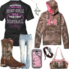 Your First Mistake Under Armour Camo Hoodie Outfit. Under Armour Camo HoodieUnder  Armour ShoesCountry Girls ... 2a9d93c55ced8