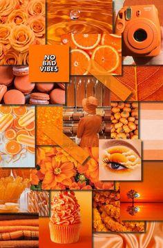 Cute Wallpaper B Orange 1   Orange wallpaper, Girl iphone wallpaper, Iphone wallpaper vintage