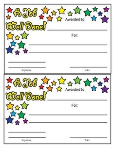 printable awards for kids a pinterest collection by mags art