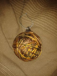 Ornament made with wool.