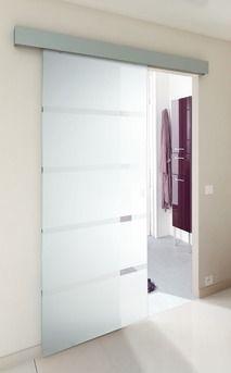 Porte coulissante galandage lapeyre en applique - Systeme coulissant porte interieure ...