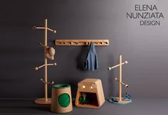 little helpers :: educational furniture for children's bedroom