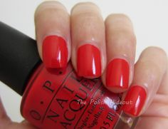 OPI Coca-Cola Red - Coca-Cola Collection