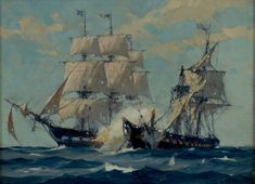 Shortly after Christmas, 1812,Constitution was sailing in the Atlantic just off the coast of Brazil. On the morning of December 29, sails were sighted on the horizon, andConstitution's new captain, William Bainbridge, altered course to investigate. The ship proved to be HMSJava, a frigate similar toGuerriere. Both frigates stood for each other and cleared theirRead more