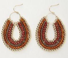Royalbeier Beaded Earrings Oversized Handmade Seed Beaded Drop Earrings Long Beaded Navajo Indian Dangle Earrings for Women Ladies – Fine Jewelry & Collectibles Chunky Jewelry, Beaded Jewelry, Handmade Jewelry, Beaded Bracelets, Paper Earrings, Bead Earrings, Bridesmaid Earrings, Wedding Earrings, Boho Chic