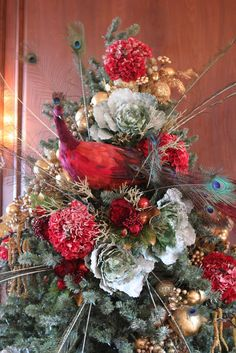 Tree topper. #romancing the home #Christmas #schweppe+mansion #decor
