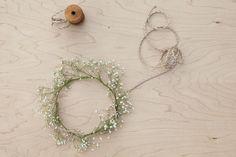Wedding Hair Wreath Tutorial