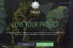 'Taiga.io Free. Open Source, Agile Project Management'