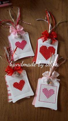 Cross Stitch Love, Cross Stitch Cards, Cross Stitching, Cross Stitch Patterns, Cross Crafts, Card Sentiments, Marianne Design, Valentines Day Decorations, Card Patterns