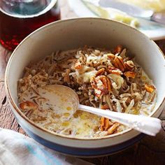 Breakfast Wild Rice: For a hearty breakfast, serve steaming wild rice topped with toasted pecans, maple syrup, milk or half-and-half, and a pat of melty butter. The recipe comes from The New Midwestern Table (clarksonpotter.com) by Minnesota chef Amy Thielen.  http://www.midwestliving.com/recipe/breakfast-wild-rice/