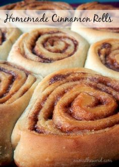 Num's the Word:  I've tried a LOT of cinnamon roll recipes and this is my favorite!  Light, fluffy and SOOOOO good!  Turns out every time and easy!